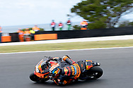 PHILLIP ISLAND, VIC - OCTOBER 27: Red Bull KTM Factory Racing rider Bradley Smith (38) in morning practice during The 2018 Australian MotoGP at The Phillip Island Circuit in Victoria, Australia on October 27, 2018. (Photo by Speed Media/Icon Sportswire)