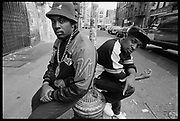 Eric-B and Chuck-D, New York, USA, 1980s.