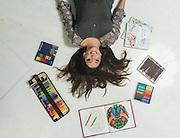Belo Horizonte_MG, Brasil.<br /> <br /> Marcela Lima, tem uma conta no Instagram e que e a maior do Jardim Secreto, livro mais famosos do segmento de livros de colorir.<br /> <br /> Marcela Lima, has an account on Instagram is that it is the largest in the Jardim Secreto (Secret Garden), the most famous book of the segment coloring books.<br /> <br /> Foto: LEO DRUMOND / NITRO