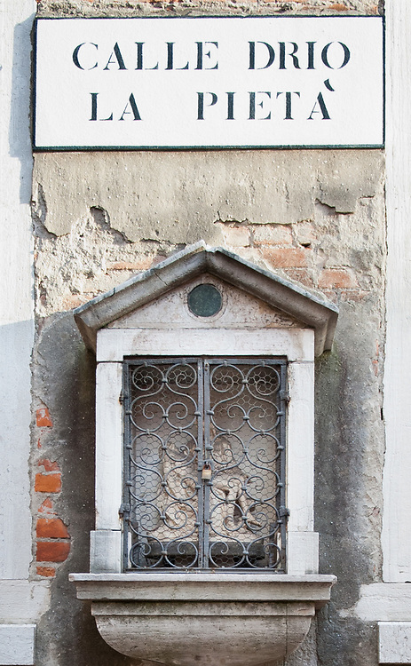 The Sestiere of Castello in Venice, life, traditional,<br /> <br /> <br /> &copy; MARCO SECCHI Votive shrines in Venice for the first time in history were used as well as street light in crucial places of the streets.