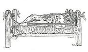 Apparatus for reducing dislocations. From Vidus Vidius 'Chirugia e Graeco in Latinum conversa ... cum commentariis', Paris, 1544.