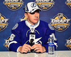 Libor Hajek at the 2016 NHL Draft in Buffalo, NY on Saturday June 25, 2016. Photo by Aaron Bell/CHL Images