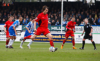 Photo: Richard Lane/Richard Lane Photography. <br /> Colchester United v Coventry City. Coca Cola Championship. 19/04/2008. City's Daniel Fox scores a goal from a penalty.