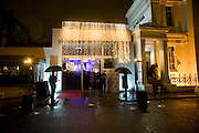 Almeida Gala. Almeida Theatre. Islington. London. 8 February 2009.  *** Local Caption *** -DO NOT ARCHIVE -Copyright Photograph by Dafydd Jones. 248 Clapham Rd. London SW9 0PZ. Tel 0207 820 0771. www.dafjones.com<br /> Almeida Gala. Almeida Theatre. Islington. London. 8 February 2009.