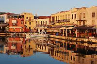 Grèce, Crète, le port vénitien de Rethymnon // Greece, Crete island, Venetian port of Rethymnon