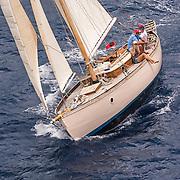 Guilding Light. Roy Boughton. Berthon Boat 36'9 ft.