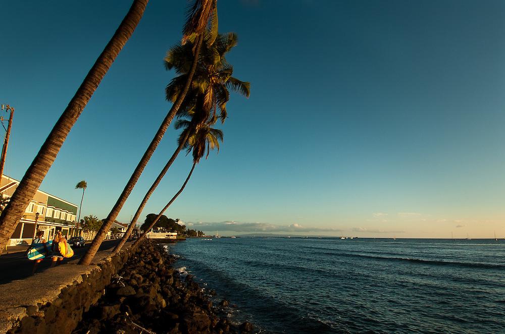 Lahaina Harbor, Maui.