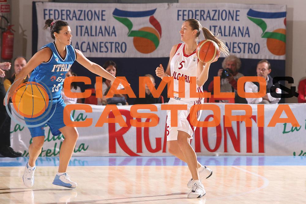 DESCRIZIONE : Bormio Torneo Preparazione Europei Nazionale Femminile 2007 Italia Bulgaria <br /> GIOCATORE : Giorgi <br /> SQUADRA : Nazionale Italia Femminile <br /> EVENTO : Torneo Preparazione Europei Nazionale Femminile 2007 <br /> GARA : Italia Bulgaria <br /> DATA : 12/08/2007 <br /> CATEGORIA : Difesa <br /> SPORT : Pallacanestro <br /> AUTORE : Agenzia Ciamillo-Castoria/G.Ciamillo