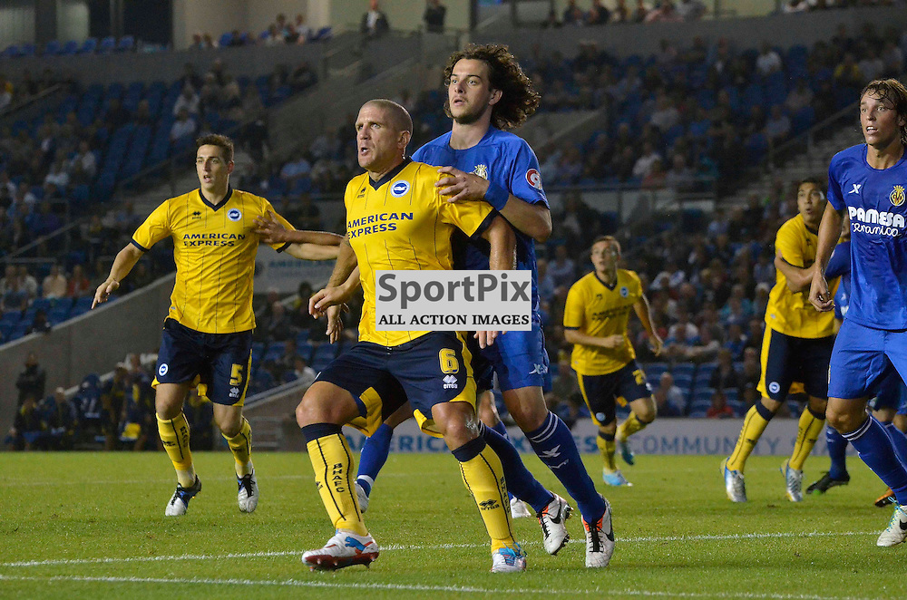 Asam El-Abd being man handled. (c) Michael Hulf | SportPix.org.uk