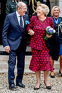 Prinses Beatrix bij Genootschap van Engelandvaarders
