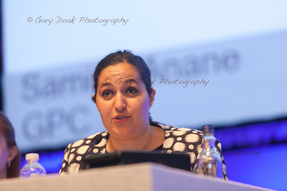 Samira Anane<br /> BMA LMC's Conference<br /> EICC, Edinburgh<br /> <br /> 18th May 2017<br /> <br /> Picture by Gary Doak