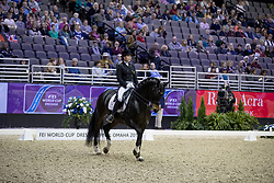 Merkulova Inessa, RUS, Mister X<br /> Grand Prix de Dressage<br /> FEI World Cup Dressage Final, Omaha 2017 <br /> © Hippo Foto - Dirk Caremans<br /> 30/03/2017