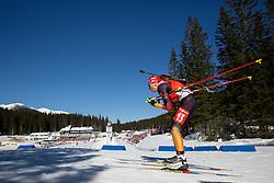 HILDEBRAND Franziska of Germany competes during Women 12.5 km Mass Start competition of the e.on IBU Biathlon World Cup on Sunday, March 9, 2014 in Pokljuka, Slovenia. Photo by Vid Ponikvar / Sportida