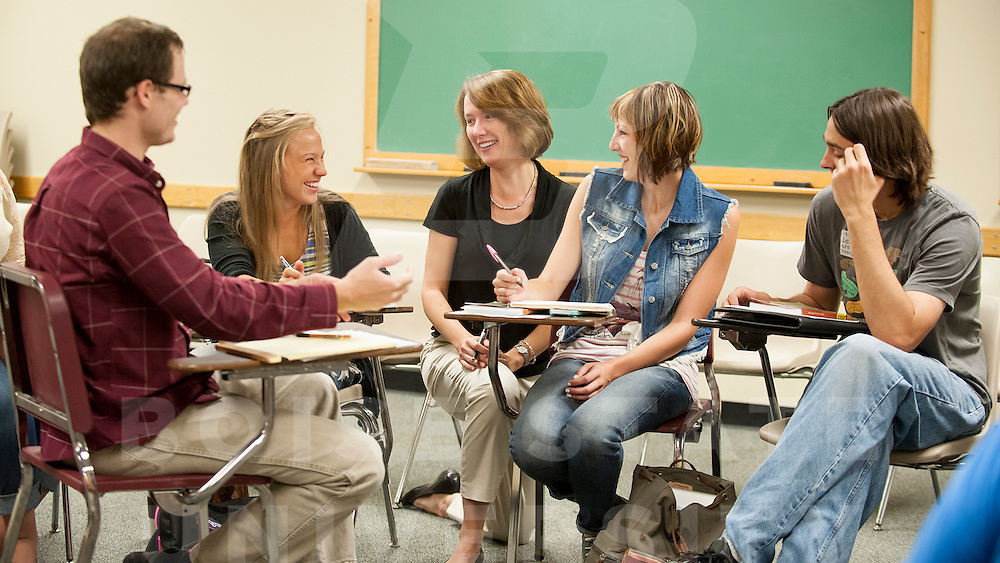 Leslie Durham, Theatre Arts, classroom, students, for Carrie Applegate promo