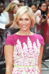 © Licensed to London News Pictures. Jenni Falconer at The Wolverine UK film premiere, Leicester Square, London UK, 16 July 2013. Photo by Richard Goldschmidt/LNP