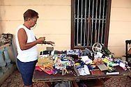 House porch shop in San Diego de los Banos, Pinar del Rio, Cuba.