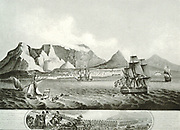 The capture of the cape (south Africa) by the English. The Battle of Blaauwberg, also known as the Battle of Cape Town, fought near Cape Town on 8 January 1806, was a small but significant military engagement. It established British rule in South Africa,