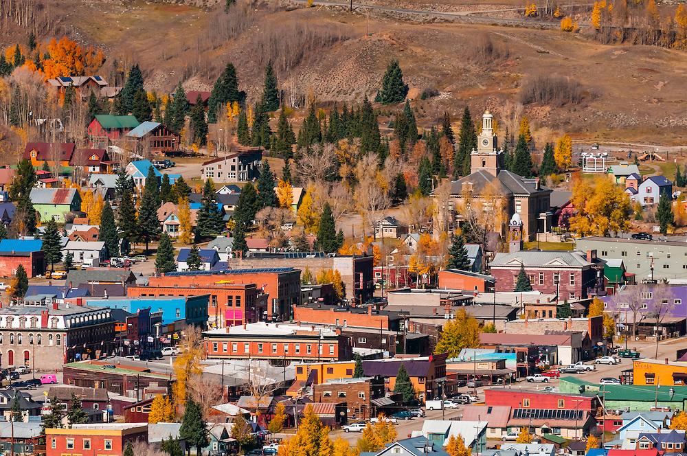 Silverton (in autumn), Colorado USA.