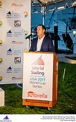 The first stop of World Sailing's 2017 World Cup Series will see over 450 competitors race across the ten Olympic classes from Regatta Park at Coconut Grove, Miami from 24 – 29 January.Image free of editorial rights. @Jesus Renedo / Sailing Energy / World Sailing