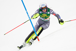 January 7, 2018 - Kranjska Gora, Gorenjska, Slovenia - Nastasia Noens of France competes on course during the Slalom race at the 54th Golden Fox FIS World Cup in Kranjska Gora, Slovenia on January 7, 2018. (Credit Image: © Rok Rakun/Pacific Press via ZUMA Wire)