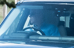 © Licensed to London News Pictures. 20/07/2020. London, UK. PRINCE ANDREW, DUKE OF YORK is seen driving himself from Royal Lodge at Windsor Great Park following the wedding of Princess Beatrice to Edoardo Mapelli Mozzi late last week. The couple had a low key ceremony with other immediate members of the Royal Family at All Saints Royal Chapel in Windsor. Photo credit: Ben Cawthra/LNP