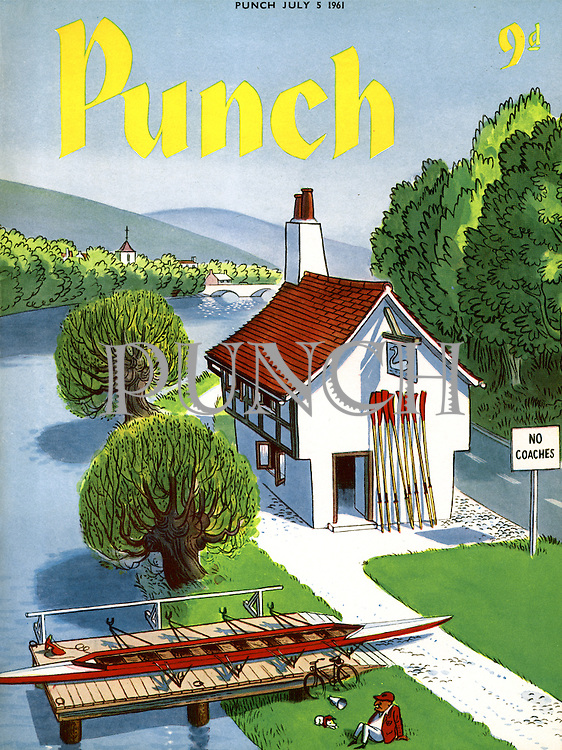 Punch (Front cover, 5 July 1961)