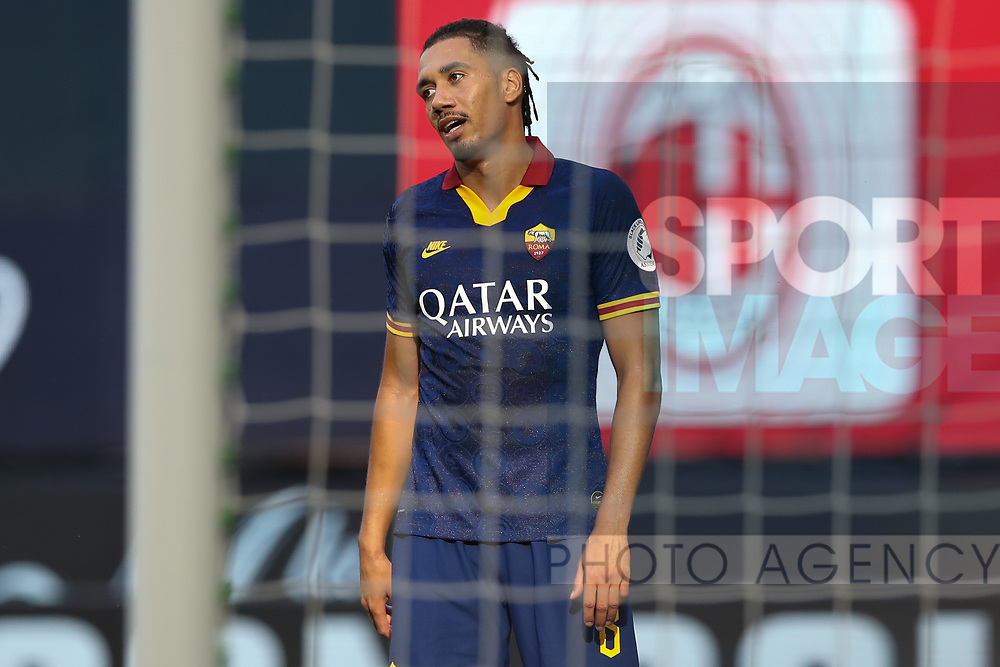 AS Roma's English defender Chris Smalling during the Serie A match at Giuseppe Meazza, Milan. Picture date: 28th June 2020. Picture credit should read: Jonathan Moscrop/Sportimage