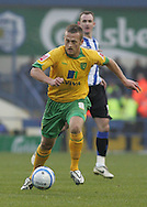 Sheffield - Sunday November 29th, 2008: Sammy Clingan of Norwich City during the Coca Cola Championship match against Sheffield Wednesday at Hillsborough, Sheffield. (Pic by Michael Sedgwick/Focus Images)