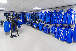 The new club shop prior to its launch - Ryan Hiscott/JMP - 19/07/2018 - FOOTBALL - Memorial Stadium - Bristol, England - Bristol Rovers Open Day