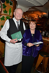 JULIAN GLOVER and ISLA BLAIR at One Night Only at The Ivy in aid of Acting For Others supported by Tanqueray No.TEN Gin at The Ivy, 1-5 West Street, London on 1st December 2013.