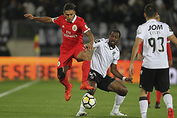 November 5, 2017 - Guimaraes, Guimaraes, Spain - Benfica's Argentinian forward Toto Salvio with Vitoria SC's Portuguese G. Tallo during the Premier League 2017/18 match between Vitoria SC and SL Benfica, at Dao Afonso Henriques Stadium in Guimaraes on November 5, 2017. (Credit Image: © Dpi/NurPhoto via ZUMA Press)