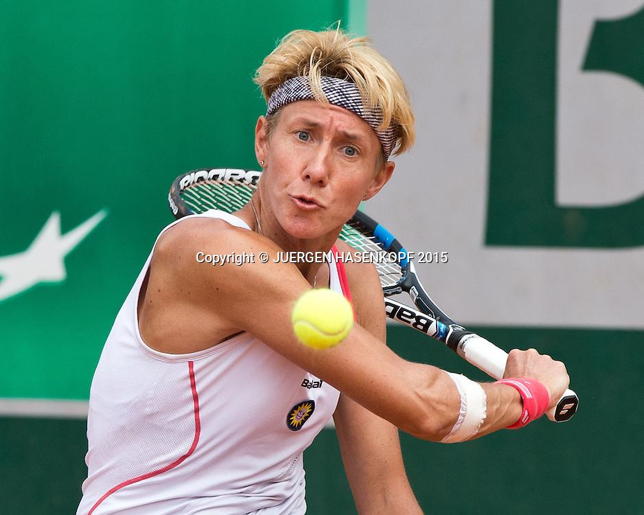 Sabine Ellerbrock (GER) Rollstuhl Tennis<br /> <br /> Tennis - French Open 2015 - Grand Slam ITF / ATP / WTA -  Roland Garros - Paris -  - France  - 3 June 2015.
