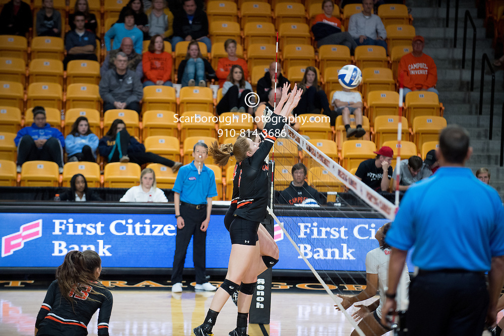 2016 Campbell University Volleyball vs Gardner Webb