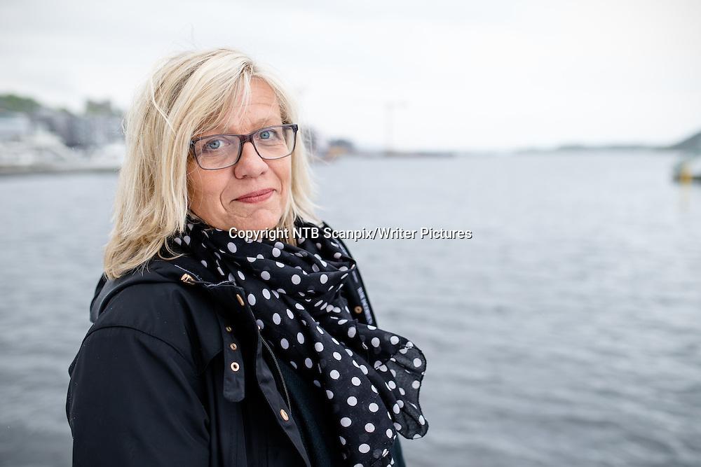 Oslo  20150512.<br /> Forfatter Lene Lauritsen Kj&macr;lner fotografert ved Operaen i Oslo. Hun er aktuell med sin nye roman med privatdetektiv Olivia Henriksen. Boken gis ut p&Acirc; Schibsted forlag.<br /> <br /> Foto: Audun Braastad / NTB scanpix<br /> <br /> NTB Scanpix/Writer Pictures<br /> <br /> WORLD RIGHTS, DIRECT SALES ONLY, NO AGENCY