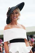 Repro Free. Model Mary Lee from Gort Finalist at the g Hotel Best Dressed competitions at the Galway Races. Photo: Andrew Downes, xposure