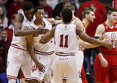 NCAA Basketball - Indiana Hoosiers vs Nebraska Cornhuskers - Bloomington, IN