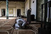 Inside Havana's mosque.