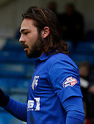 Gillingham midfielder Bradley Dack during the Sky Bet League 1 match between Gillingham and Barnsley at the MEMS Priestfield Stadium, Gillingham, England on 13 February 2016. Photo by Andy Walter.