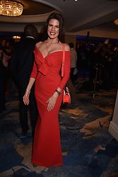Christina Estrada at the Chain of Hope Gala Ball held at the Grosvenor House Hotel, Park Lane, London England. 17 November 2017.<br /> Photo by Dominic O'Neill/SilverHub 0203 174 1069 sales@silverhubmedia.com