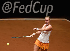 20150419 NED: Fed Cup Nederland - Australie, Den Bosch