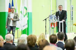 Ivan Levak, president of Slovenia gymnastics federation during Grand Opening of new Ljubljana Gymnastics centre Cerar-Pegan-Petkovsek, on November 26, 2015 in Ljubljana, Slovenia. Photo by Vid Ponikvar / Sportida