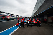 Jules Bianchi, Marussia F1 team, Jerez pre-season testing