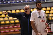 Romeo Meo Sacchetti, Antonio Iannuzzi<br /> Nazionale Italiana Maschile Senior - Allenamento<br /> FIP 2017<br /> Torino, 20/11/2017<br /> Foto M.Ceretti / Ciamillo-Castoria
