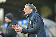 Wycombe Wanderers manager, Gareth Ainsworth during the EFL Sky Bet League 2 match between Wycombe Wanderers and Hartlepool United at Adams Park, High Wycombe, England on 26 November 2016. Photo by Adam Rivers.