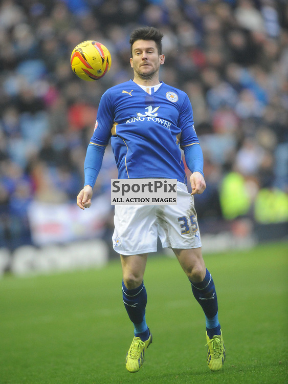 David Nugent Leicester City, Leicester City v Watford, Sky Bet Championship, Saturday 8th Febuary 2014