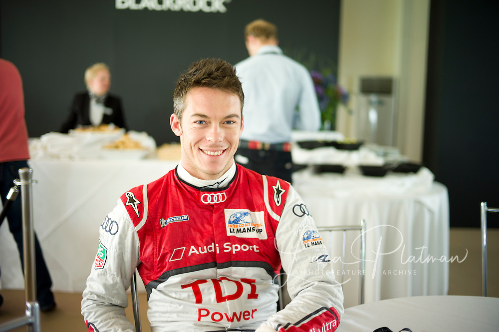 Andre Lotterer, Le Mans 24hr 2011 winner in the Audi