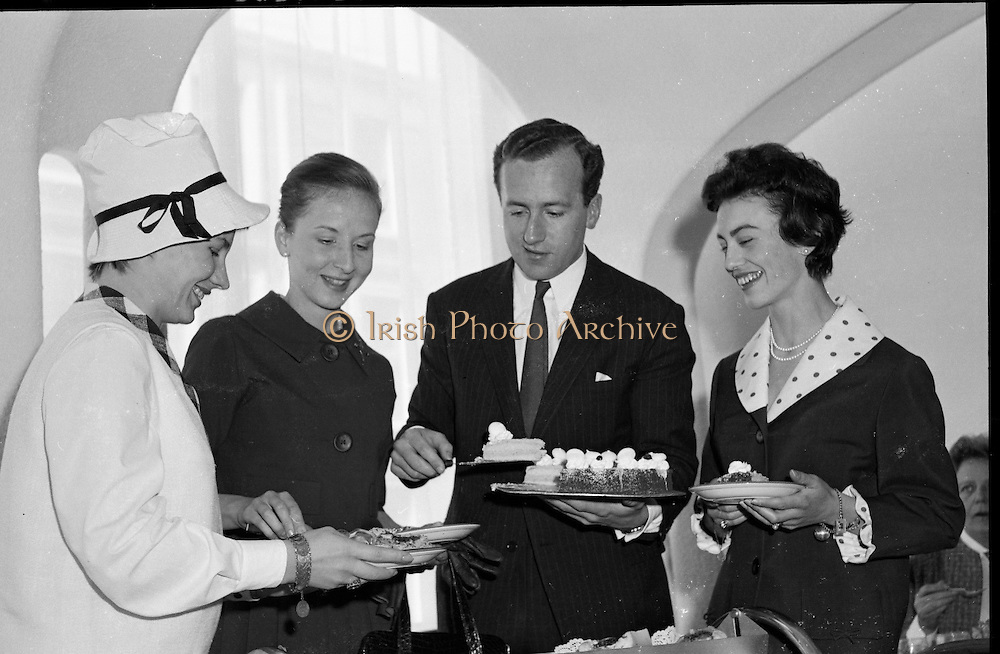 The opening of a new restaurant at Brown Thomas, Grafton Street..10.05.1961