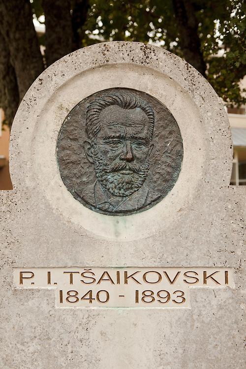 Memorial to Tsaikovski in Haapsalu