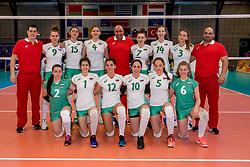01-04-2017 NED:  CEV U18 Europees Kampioenschap vrouwen dag 1, Arnhem<br /> Nederland - Bulgarije verliest met 1-3 / Team Bulgarije