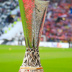 Illustration Trophy before the Europa League Final match between Marseille and Atletico Madrid at Groupama Stadium on May 16, 2018 in Lyon, France. (Photo by Guillaume Ruoppolo/Icon Sport)